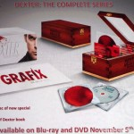 SDCC 2013: Dexter panel: Complete Series Box Set packaging