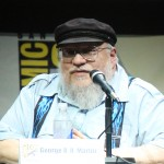 SDCC 2013: Game of Thrones panel: author George R.R. Martin 02