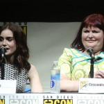 SDCC 2013:The Mortal Instruments: City of Bones panel: Lily Collins and author Cassandra Clare