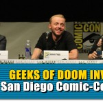 SDCC 2013: The Worlds End: director Edgar Wright, Simon Pegg, and Nick Frost