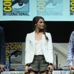 SDCC 2013: Dawn of the Planet of the Apes panel: Jason Clarke, Keri Russell, and Andy Serkis