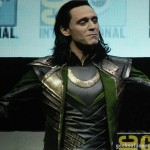Tom Hiddleston as Loki SDCC 2013