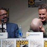 SDCC 2013: Breaking Bad panel: creator Vince Gilligan and Bryan Cranston 02