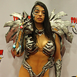SDCC 2013: Convention Floor: Witchblade at the Top Cow booth