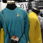 SDCC 2013: Convention Floor: Star Trek outfits