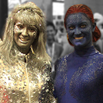 SDCC 2013: Cosplay: Emma Frost and Mystique