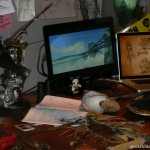 D23 Expo 2013: Office from Avatar Land with concept art