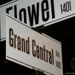 D23 Expo 2013: Flower and Grand Central Ave