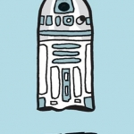 100 Ghosts: A Gallery of Harmless Haunts R2-D2 ghost