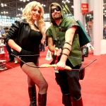 NYCC 2013: Black Canary and Green Arrow