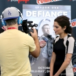 SDCC 2013: Stephanie Leonidas of Defiance