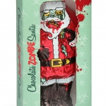 Chocolate Zombie Santa wrapped in box