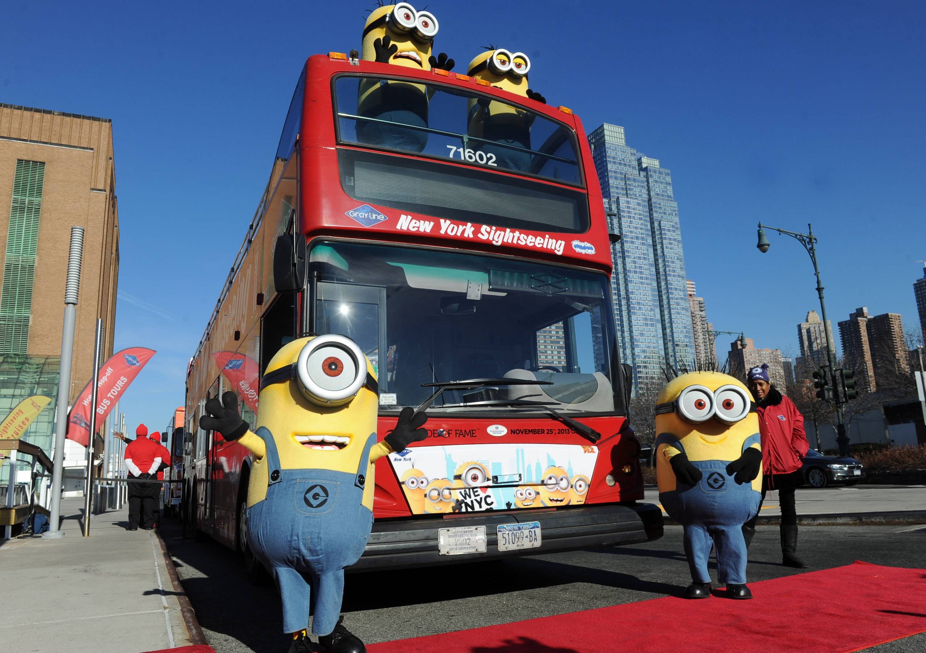 Despicable Me 2 Minions in Manhattan