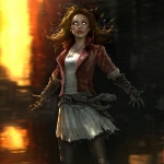 Scarlet Witch Avengers Age Of Ultron Concept Art