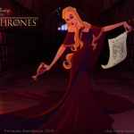 Game of Thrones by Disney -- Cersei Lannister