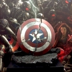 Avengers: Age Of Ultron Captain America shattered shield