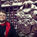 Guillermo del Toro at the Crimson Peak Gothic Gallery