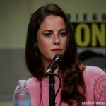 Kaya Scodelario The Maze Runner SDCC 2014 Photo credit Dave 3 for Geeks Of Doom