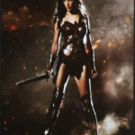 Wonder Woman Gal Gadot poster SDCC 2014 Batman v Superman Dawn of Justice