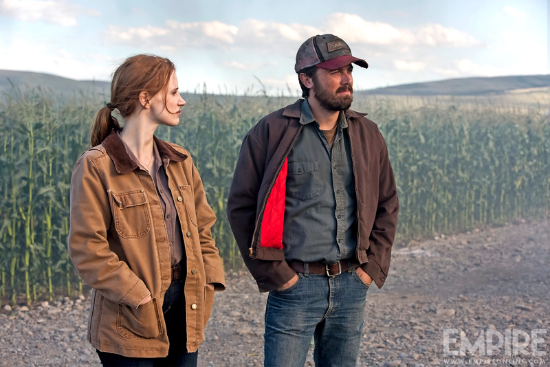 Interstellar starring Jessica Chastain and Casey Affleck
