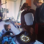 Boston Bruins Players Dressed as Frozen Characters #3