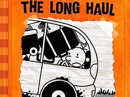 Nycc 2014 Jeff Kinney Presents Diary Of A Wimpy Kid Book 9 The Long Haul