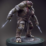 Teenage Mutant Ninja Turtles Concept Art -- Raphael #1