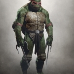 Teenage Mutant Ninja Turtles Concept Art -- Raphael #3