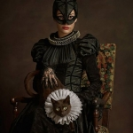 Renaissance Heroes and Villains Cosplay Shoot -- Catwoman