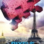 Pixels Movie Poster -- Space Invaders