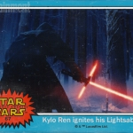 Star Wars: The Force Awakens Kylo Ren trading card