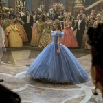 Cinderella live action movie Cinderella and Prince at Ball