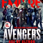 Avengers: Age of Ultron cast Empire cover