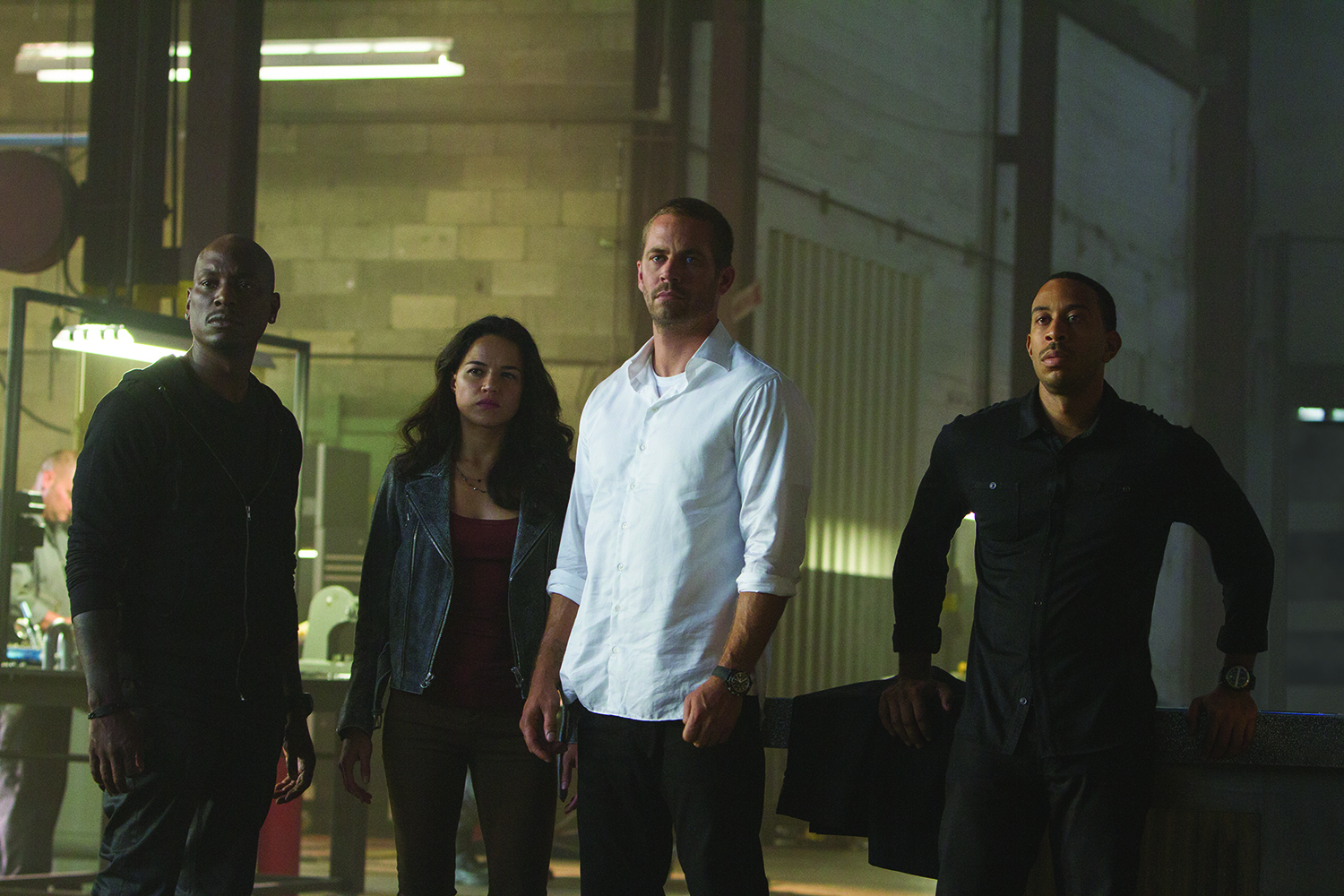 Furious 7 Tyrese Gibson, Michelle Rodriguez, Paul Walker Chris Ludacris Bridges
