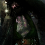 Harry Potter and the Sorcerer's Stone Illustrated -- Hagrid