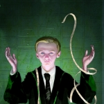 Harry Potter and the Sorcerer's Stone Illustrated -- Draco