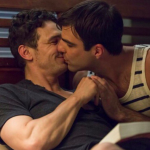 I Am Michael James Franco and Zachary Quinto kissing