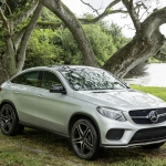 Mercedes-Benz GLE Coupe 2016 GLE on Jurassic World set