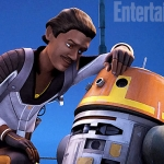 Star Wars Rebels Lando and Chopper EW preview