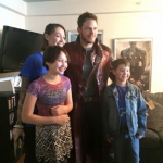 Chris Pratt at Christopher's Have February 2015 via Pratt