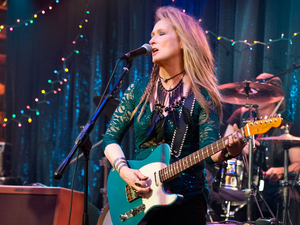 First Look Meryl Streep In Ricki and the Flash