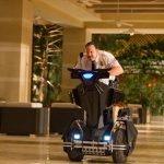 Paul Blart (Kevin James) in Columbia Pictures PAUL BLART: MALL COP 2