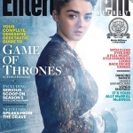 Game Of Thrones Season 5 EW cover Arya Stark