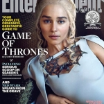 Game Of Thrones Season 5 EW cover Daenerys Targaryen