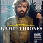 Game Of Thrones Season 5 EW cover Tyrion Lannister