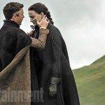 Game Of Thrones Season 5 Littlefinger (Aidan Gillen) comforts Sansa (Sophie Turner)