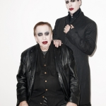 Marilyn Manson and dad Hugh Warner for Paper; photo by Terry Richardson