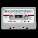 Metallica No Life 'til Leather limited edition demo cassette tape