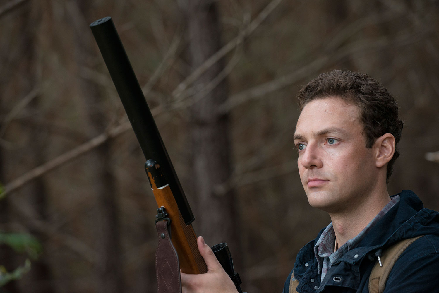The Walking Dead Episode 513 Forget Ross Marquand as Aaron