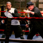 Rocky Creed Michael B. Jordan and Sylvester Stallone